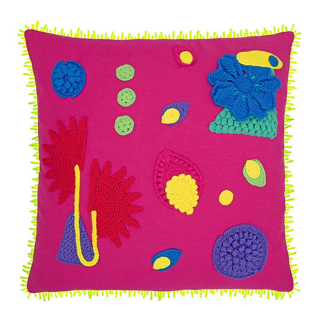 Amazonica Cushion, Pink