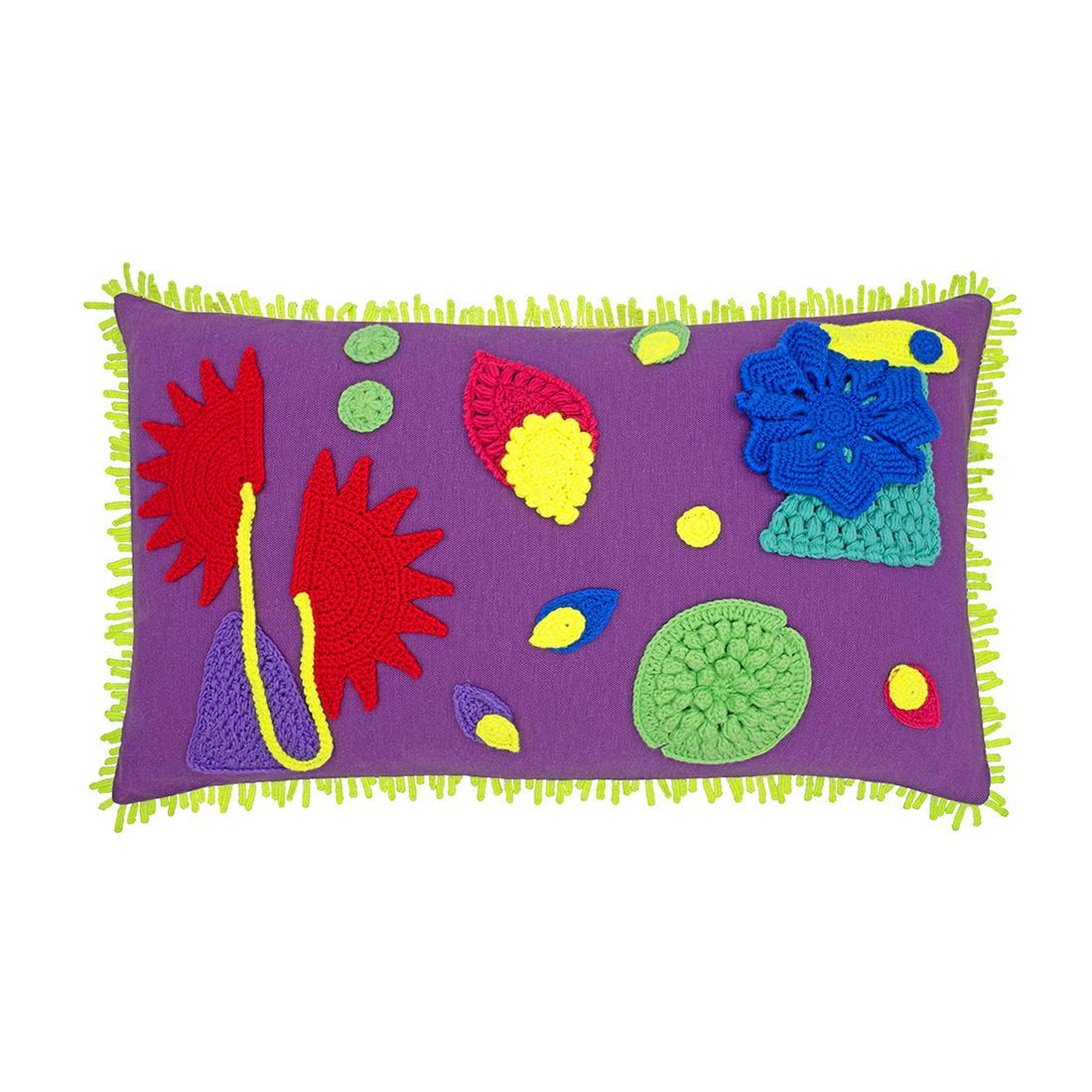 Amazonica Cushion, Purple